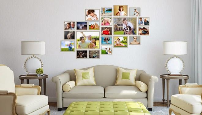 Ideias decorativas  quadros na parede ~ Decoração e Ideias  casa e