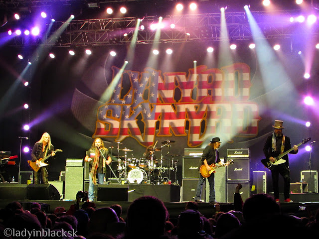 Lynyrd Skynyrd in the house