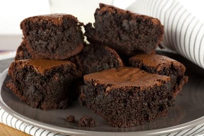 Kek Brownies Simple