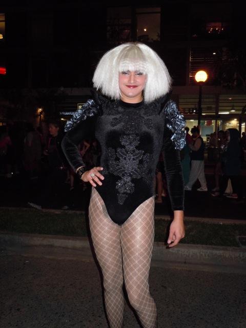 Lady Gaga WEHO Halloween Carnaval