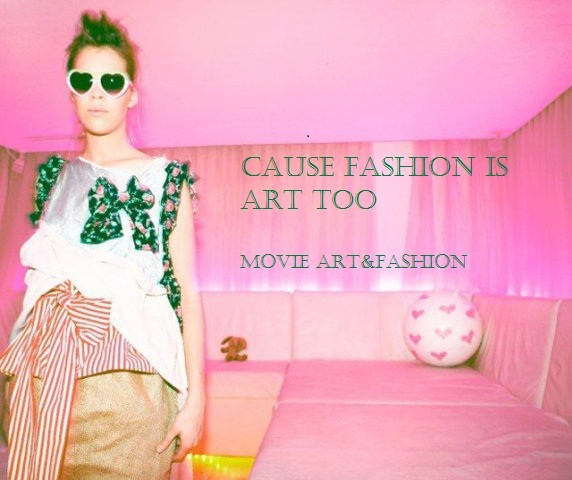 Cause fashion is art too...