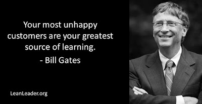 Your most unhappy customers are your greatest source of learning