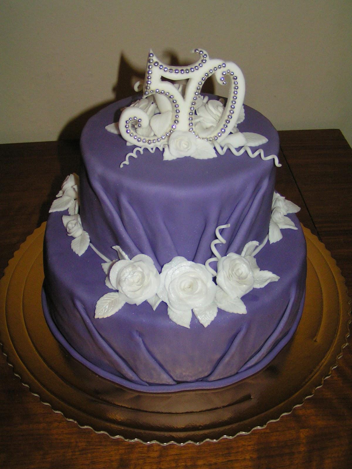 Fialová torta