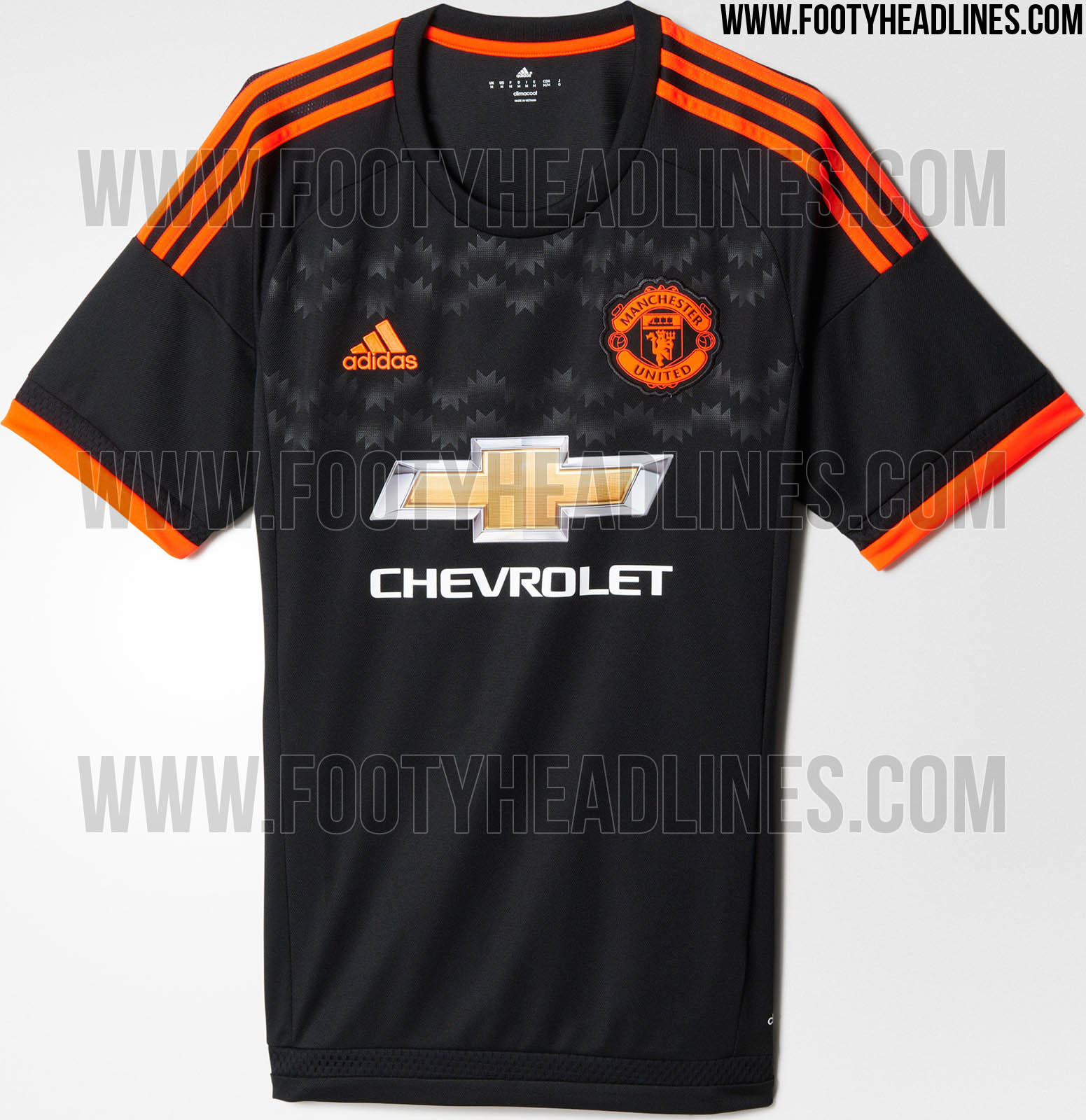 Adidas Manchester United 15-16 Kits Released - Footy Headlines