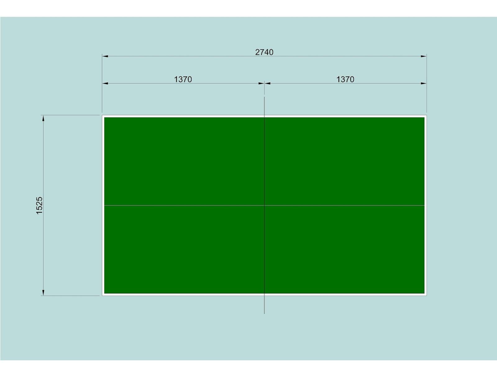 Costruire facile aprile 2014 - Tavolo da ping pong dimensioni ...