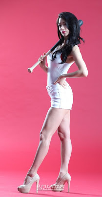 Clara Lee Sexy Baseball Girl