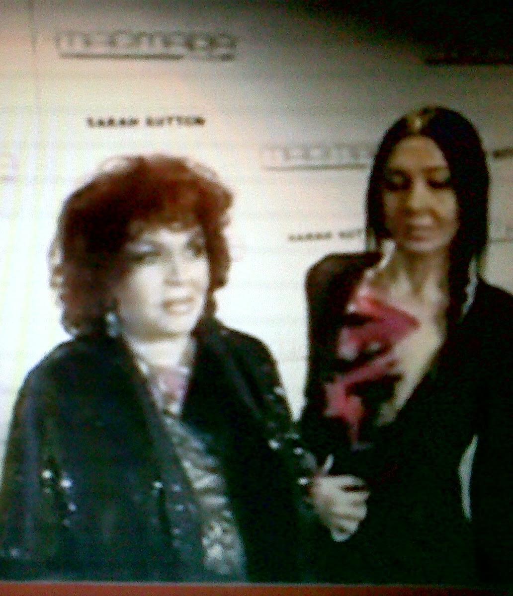 SARA MONTIEL Y YO-SARA-Madrid-Noviembre-2012-Disculpar calidad-imagen está sacada la foto de TV.