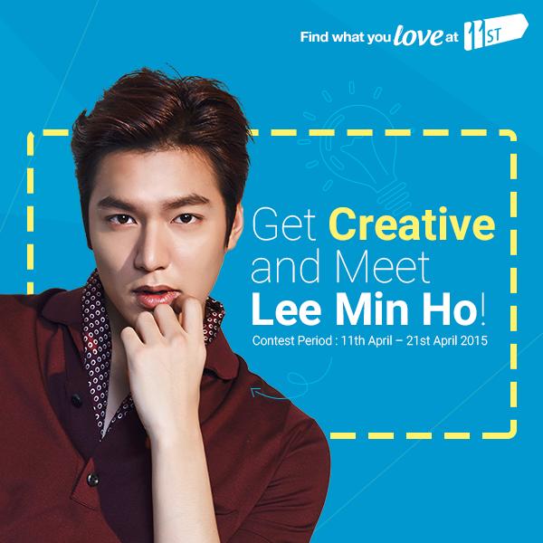 April 2015, Lee Min Ho, 11street, Malaysia, Suzy