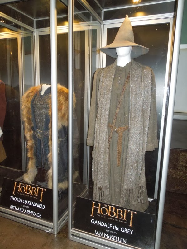 Ian McKellen Gandalf the Grey costume Hobbit Desolation of Smaug