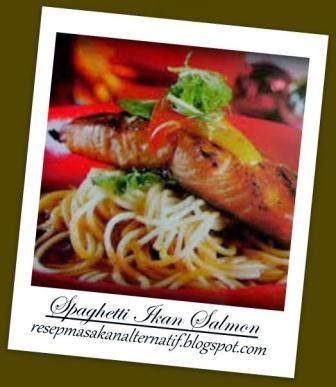Resep dan Cara Membuat Spaghetti Ikan Salmon Jahe