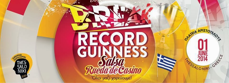 guinness world record rueda de casino