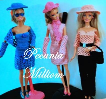 Barbie Moda - Col. 2 por Pecunia MM