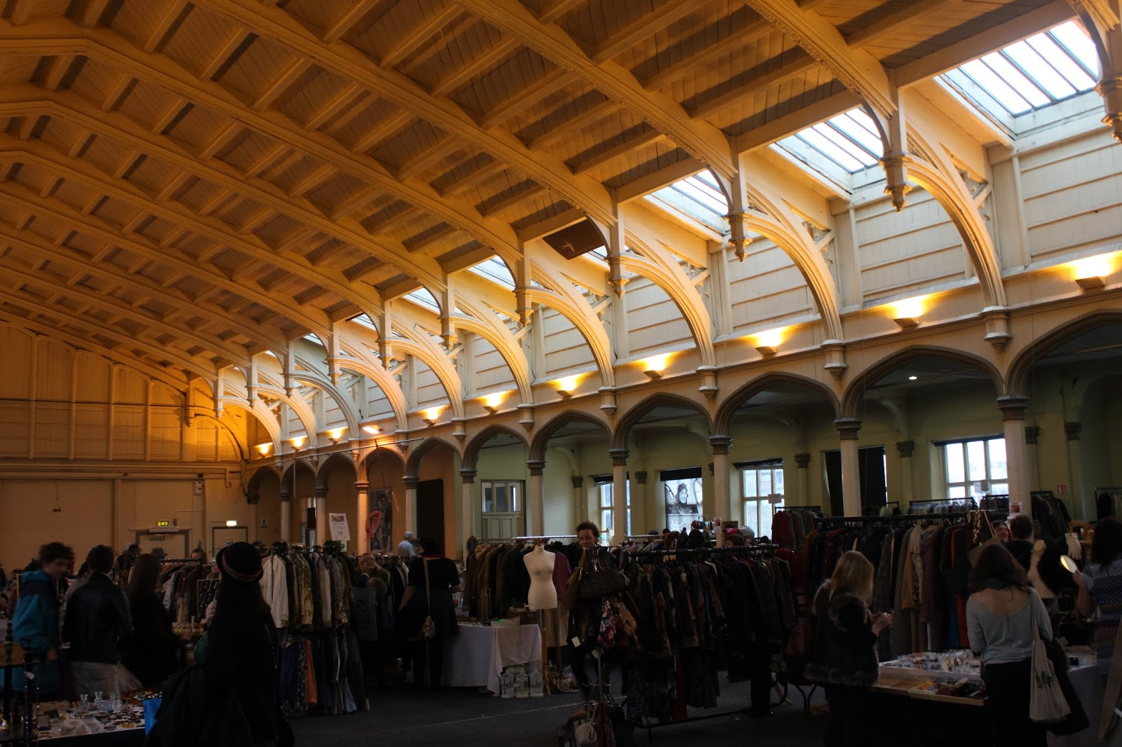 vintage fair, bristol, the passenger shed