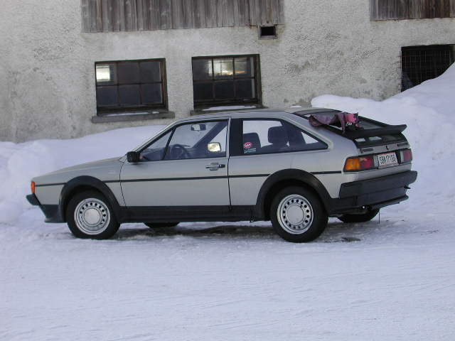 my scirocco II GT - winter car
