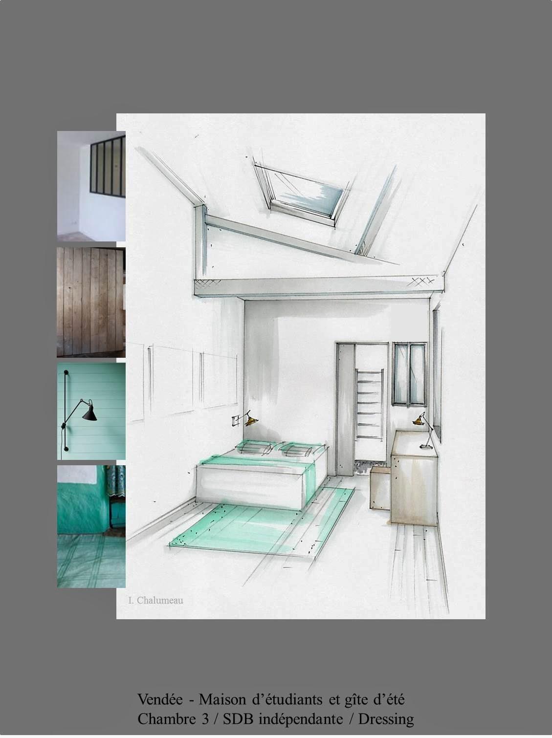 Isabelle chalumeau conception graphique et d coration d for Plan maison avec cotation