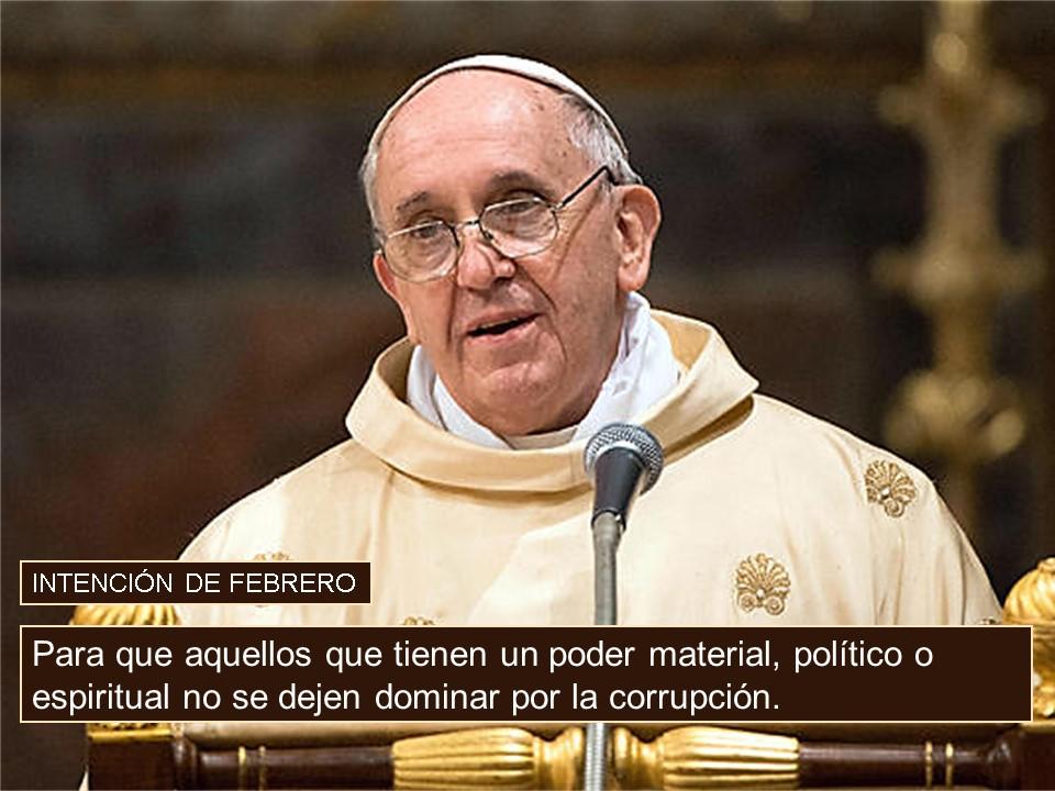 Intención del Papa Febrero