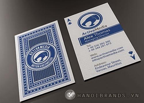 Thiết kế mẫu card visit ấn tượng 6