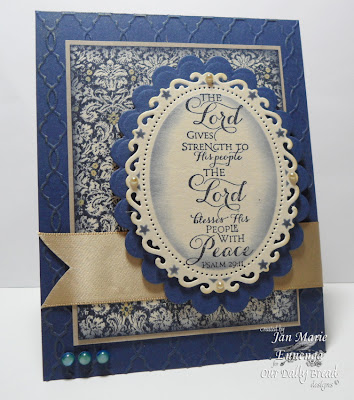 Scripture Series 3, Brocade Backgroun