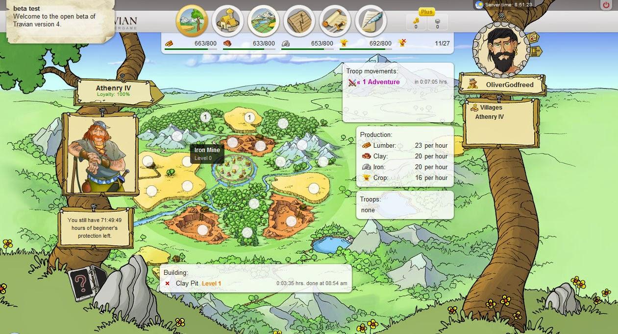 Travian, un juego de estrategia para todo tipo de usuarios