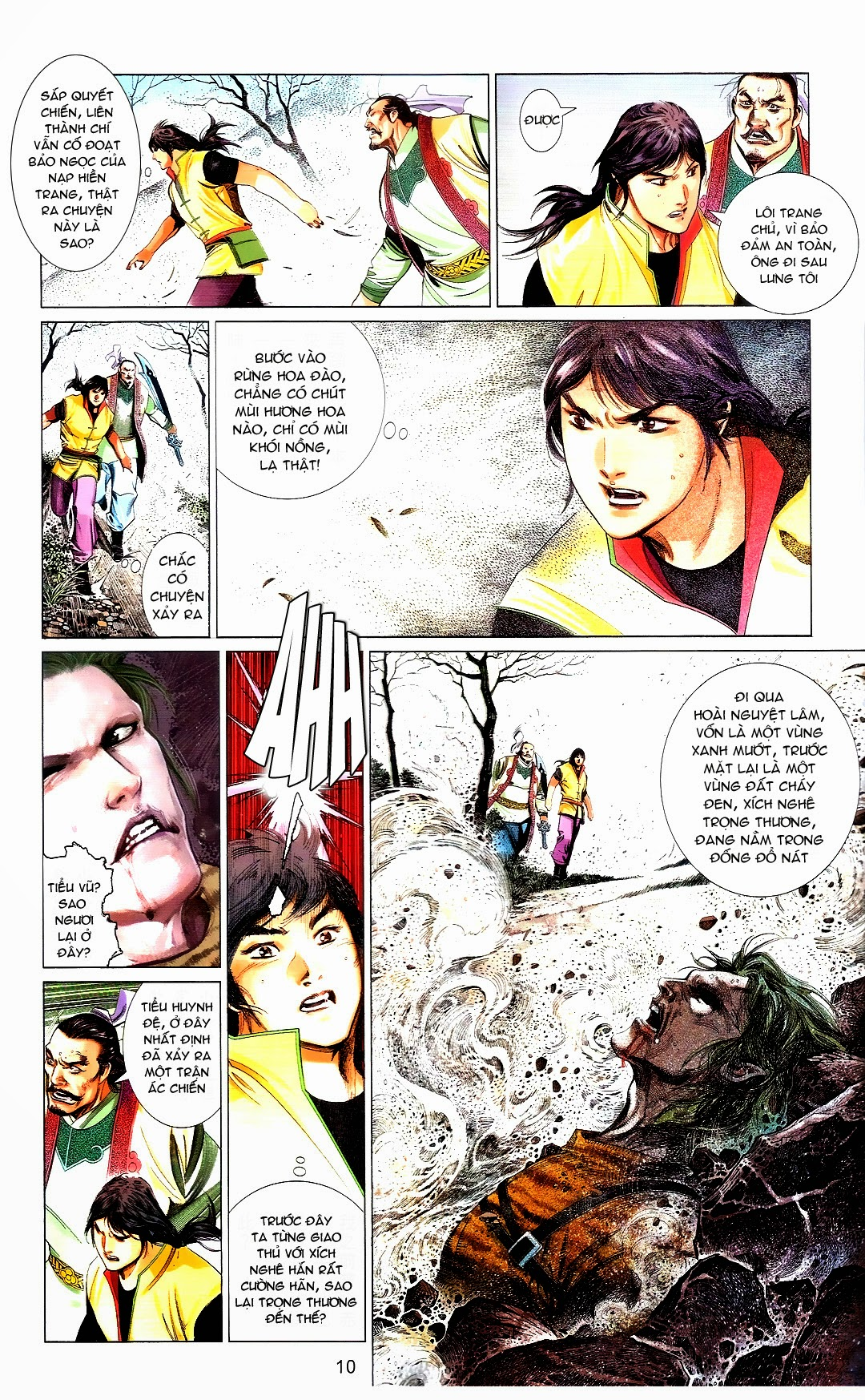 Phong Vân chap 666 Trang 10 - Mangak.info