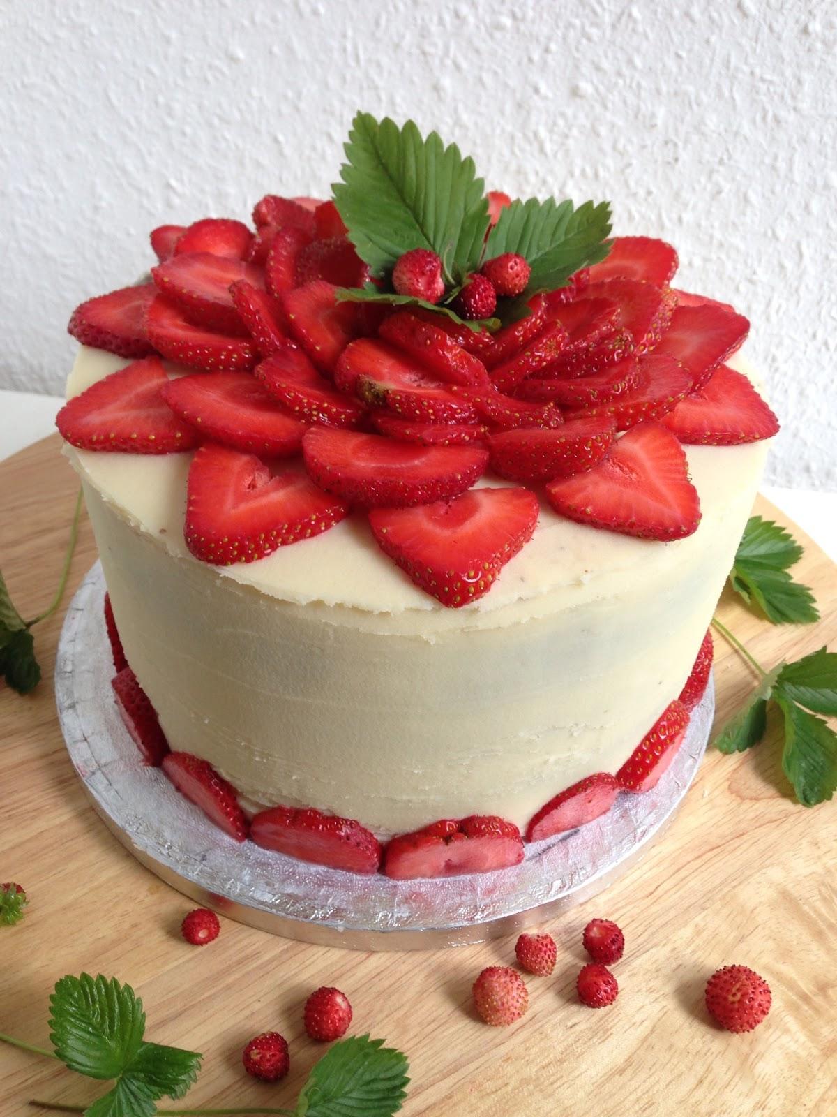 Schoko sahne torte zweistockig