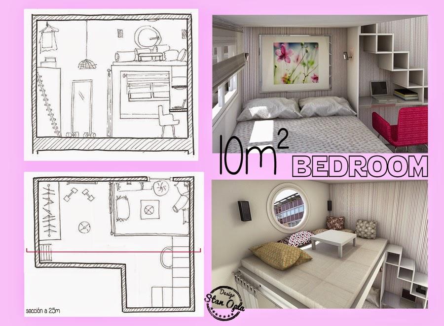 Stan opla designs 8 ideas para decorar espacios reducidos for Como disenar un despacho