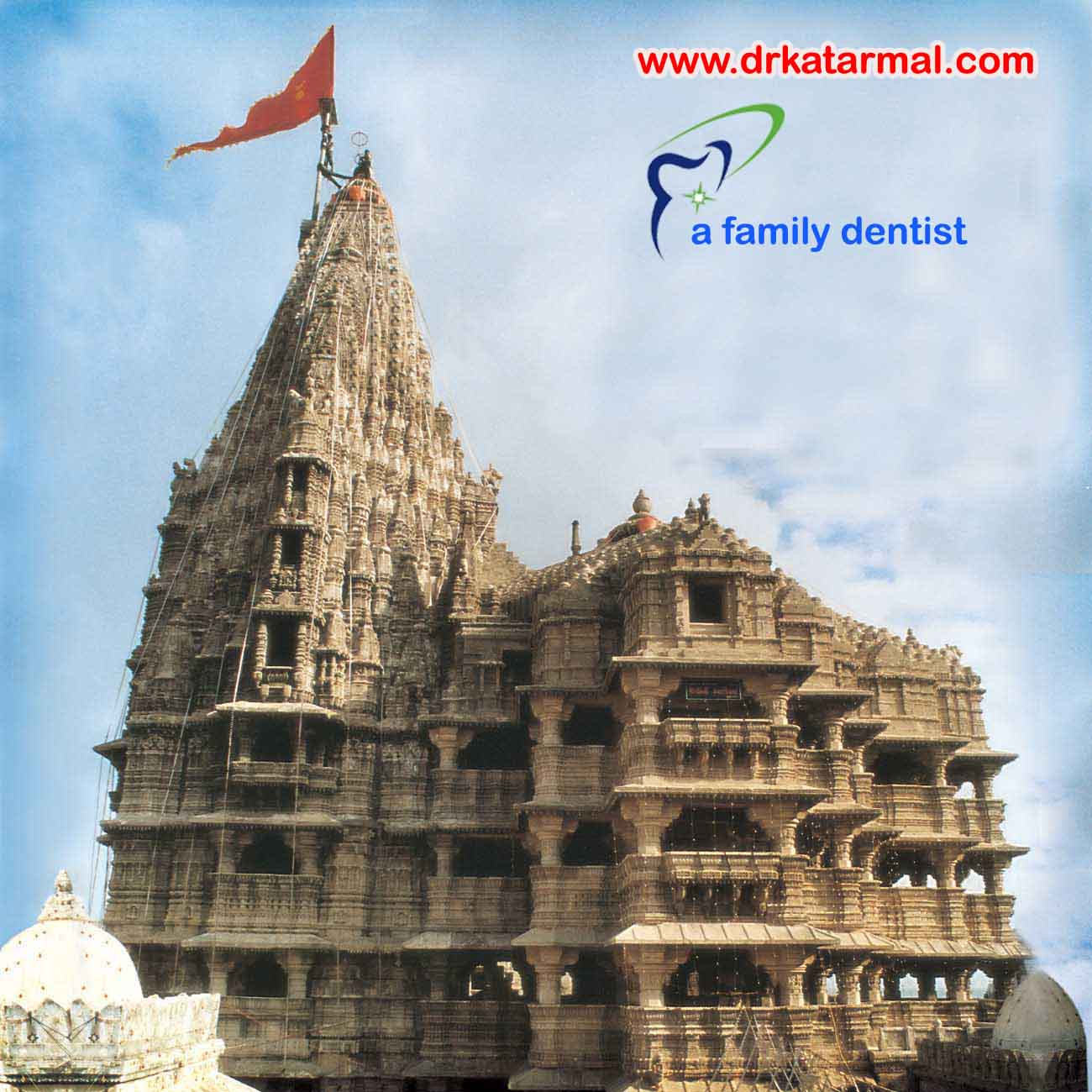dwarkadhish temple is famous tourist point of jamnagar, mandir of krishna