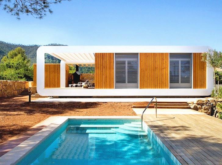 Casas ecologicas la casa ecol gica 3 0 de noem prefabricada y controlable v a smartphone - Casa ecologicas prefabricadas ...