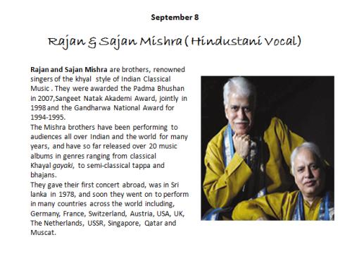 Classical Music - Pt. Rajan and Sajan Mishra