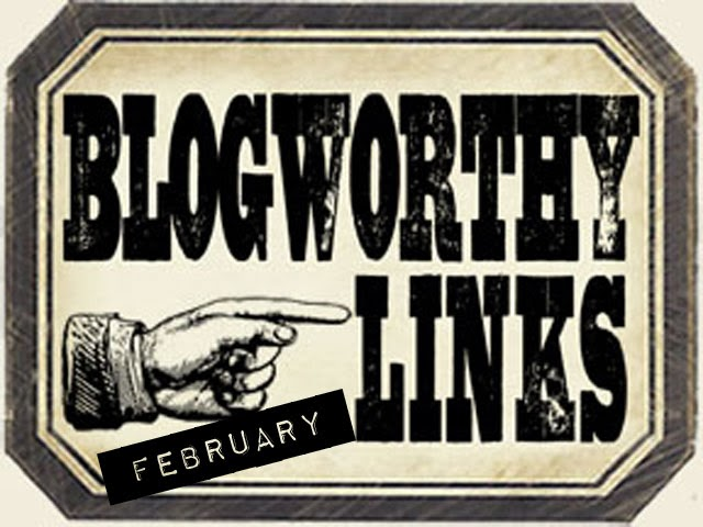 Proud and honoured to be one of Tim Holtz's Blogworthy Links ~ February 2014