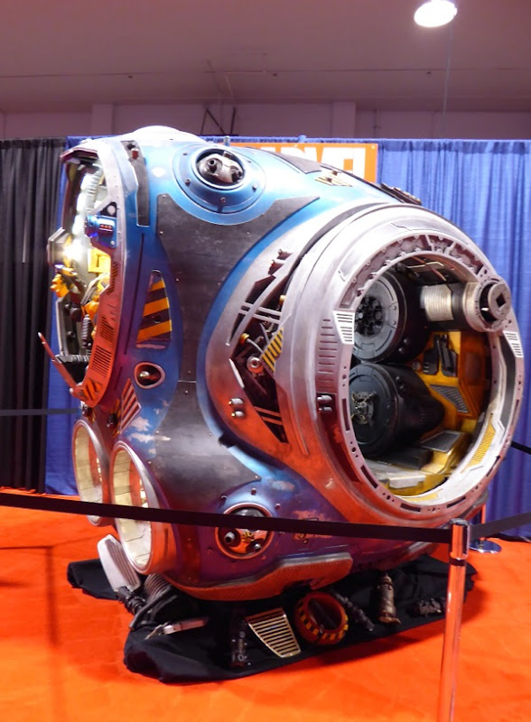 Guardians of the Galaxy space pod film prop