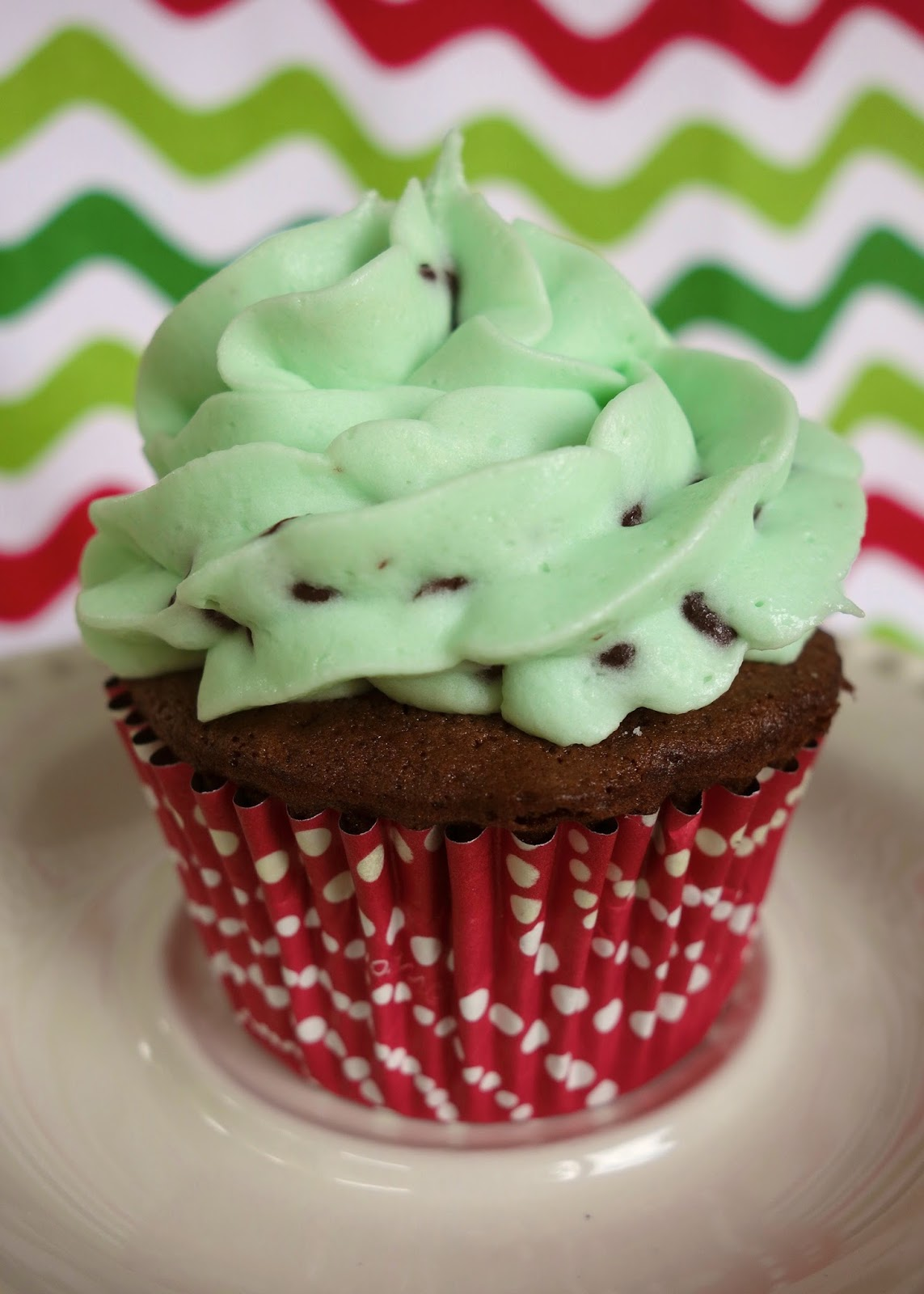 Mint Chocolate Chip Cupcakes | Plain Chicken