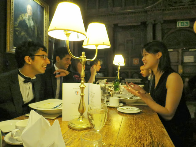 Balliol college formal dinner oxford