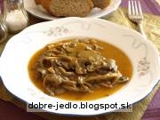Hlivovo-šampiňónový perkelt - recept