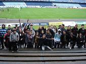 os alunos visitaram o estádio olímpico