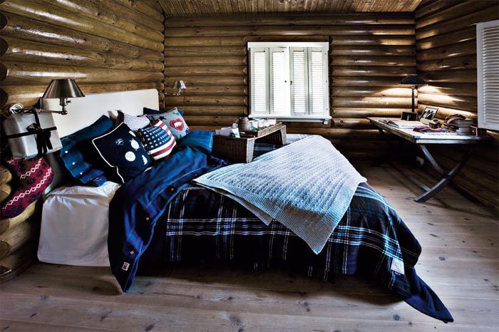 decoracion navidad  casa de campo nordica-dormitorio matrimonial