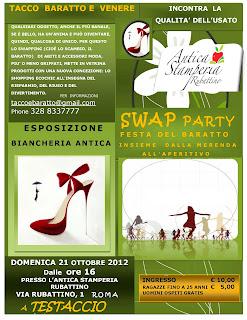 Swap Party, festa del baratto: lo shopping economico e ecosostenibile