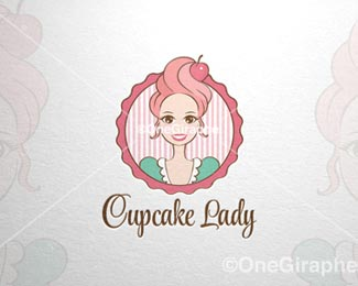 Let s Share the World of Fantasy: 20 Cake Logo Inspirations
