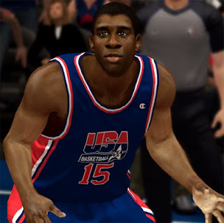 NBA 2K13 Magic Johnson Cyber Face Update