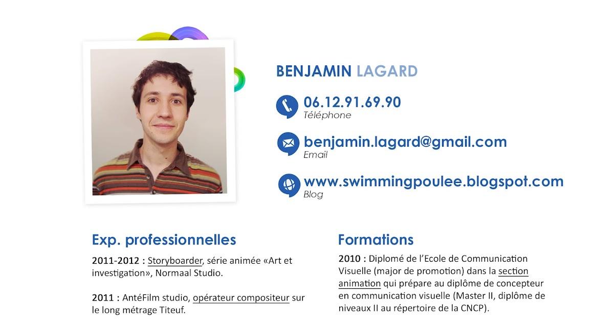 Benjamin Lagard Storyboarder Curriculum Vitae