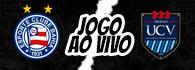 AO VIVO: Bahia x César Vallejo