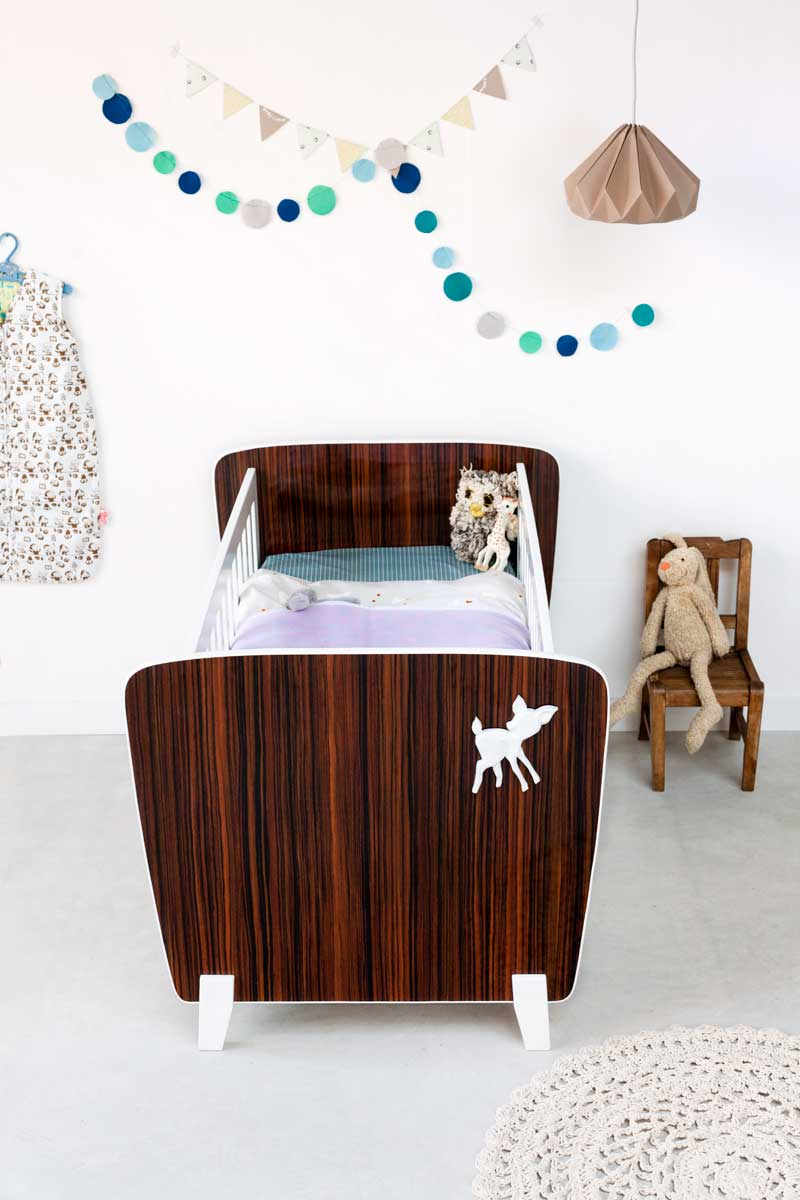 De Oude Speelkamer  De Oude Speelkamer presenteert nieuw ledikant  hedendaags design met retro