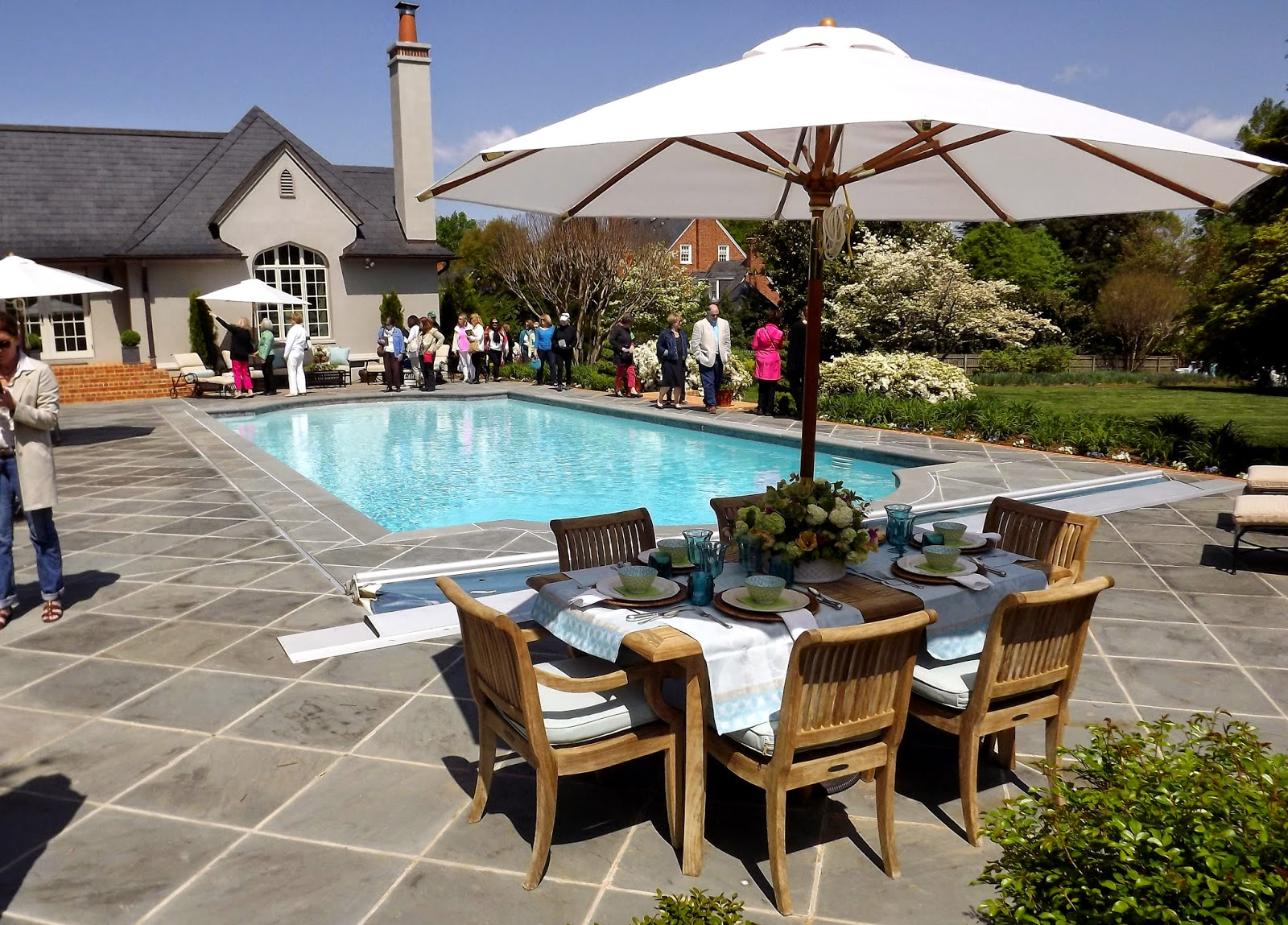 Forsythia hill finds historic garden week in richmond for Richmond gardens pool