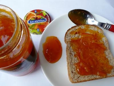 Mermelada de zanahoria y naranja de Los Nietitos