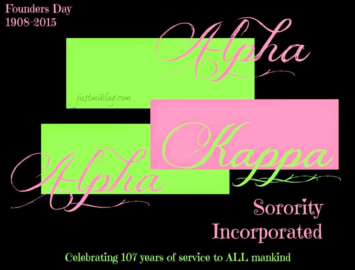 celebrating 107 years of Alpha Kappa Alpha Sorority, Inc.