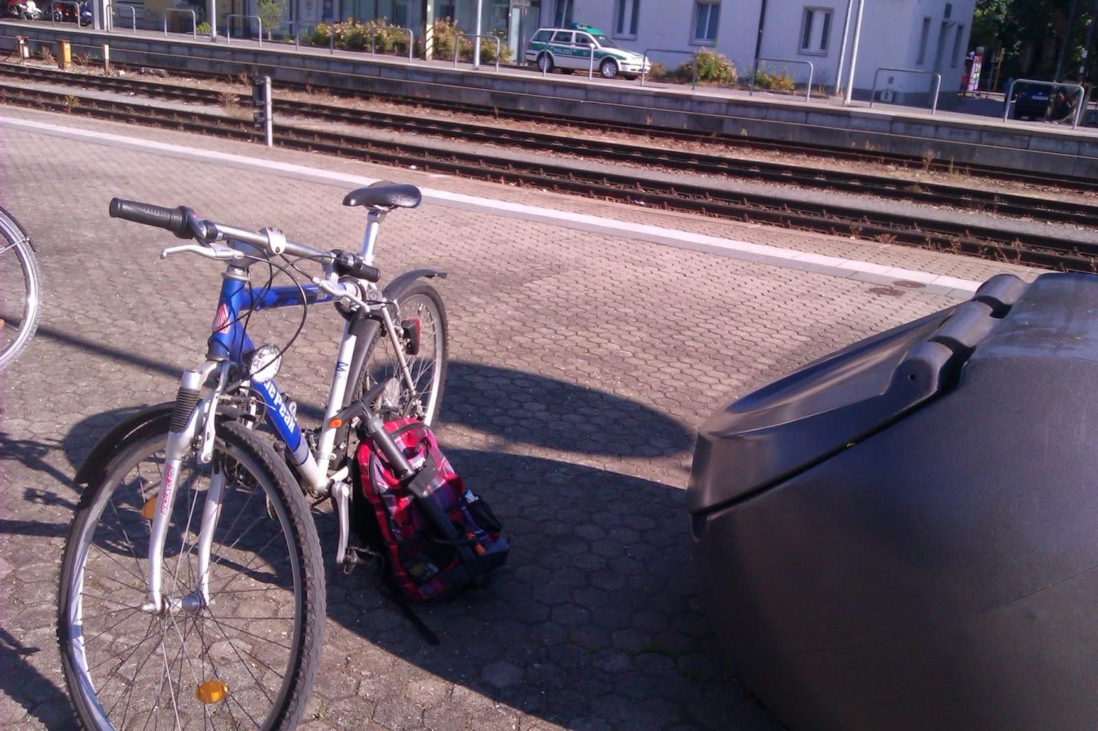 Hauptbahnhof Regensburg Fahrrad