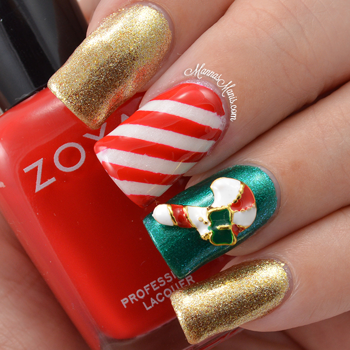 Born Pretty Store 3d Christmas Nail Art Decorations Mannas Manis