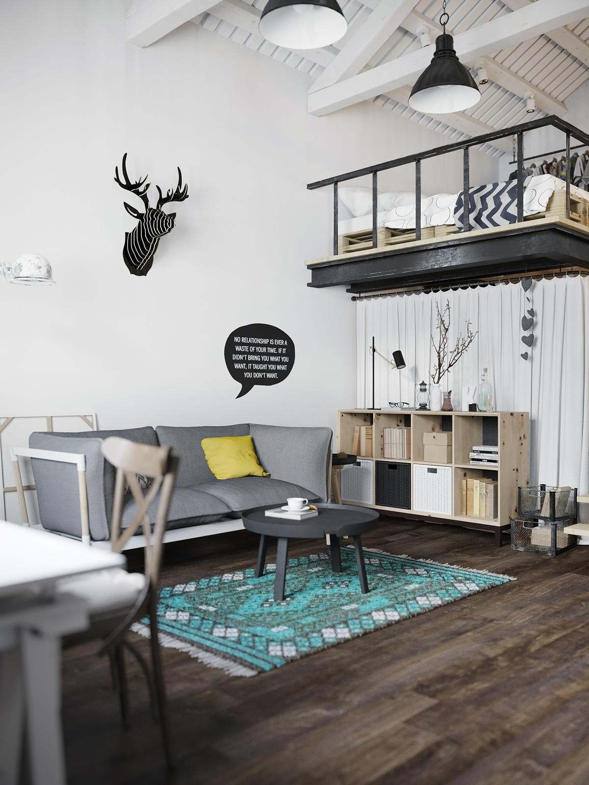 La buhardilla decoraci n dise o y muebles un precioso for Loft muebles