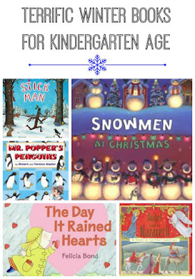 Winter Books Recommendations for Kindergartners