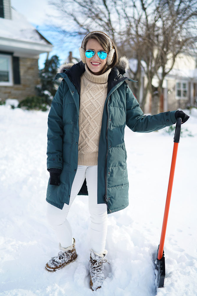Canada Goose down outlet cheap - Snow Day in my Canada Goose | Covering the Bases | Fashion and ...